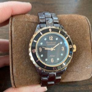Armitron Brown Ceramic Bracelet Women's Watch New